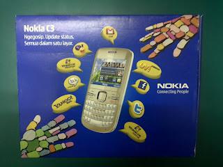 Dus Nokia C3 Seken