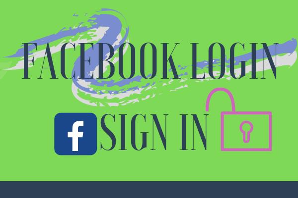 Facebook Login Sign In