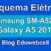 Esquema Elétrico Samsung SM-A520F Galaxy A5 2017 - Manual de Serviço