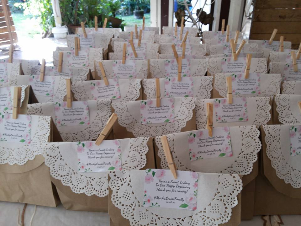 Wedding Giveaways Ideas Divisoria : Our Rustic Wedding DIY Projects - Mommy Practicality