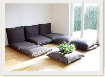 Uma linda promessa sala de estar sem sof pode for Sofa que vira beliche onde comprar