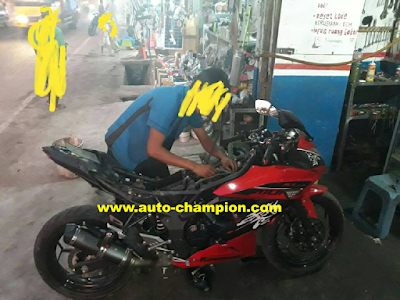 motor ninja nembak nembak
