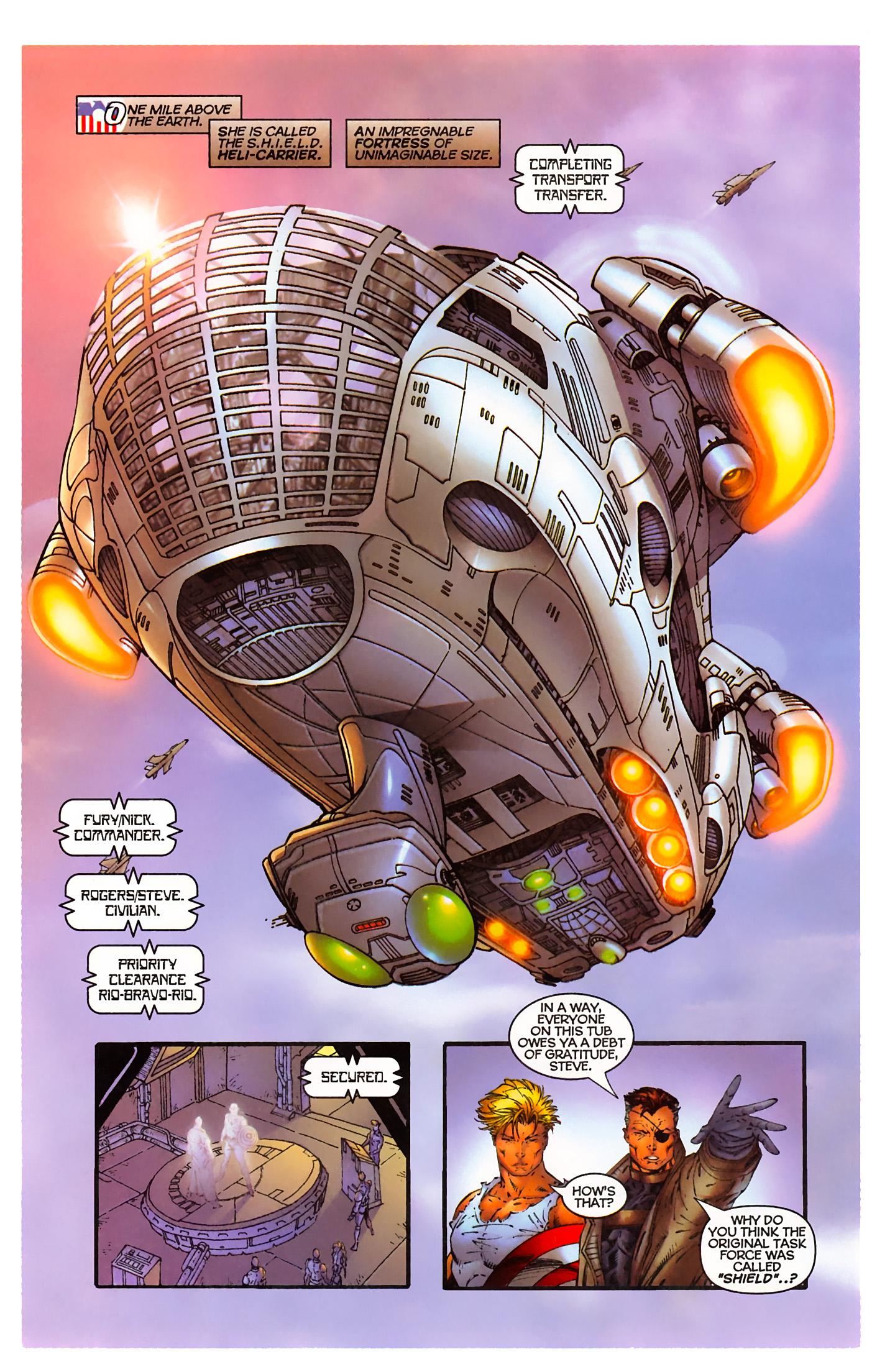 Captain America (1996) Issue #3 #3 - English 10