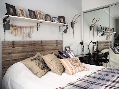 makuuhuoneen sänky, sänky, sängynpääty