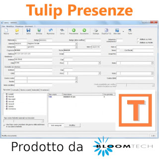 tulip software presenze
