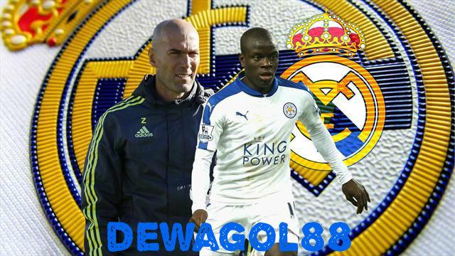 Madrid Mengalihkan Bidikannya Ke N'Golo Kante Dari Leicester City