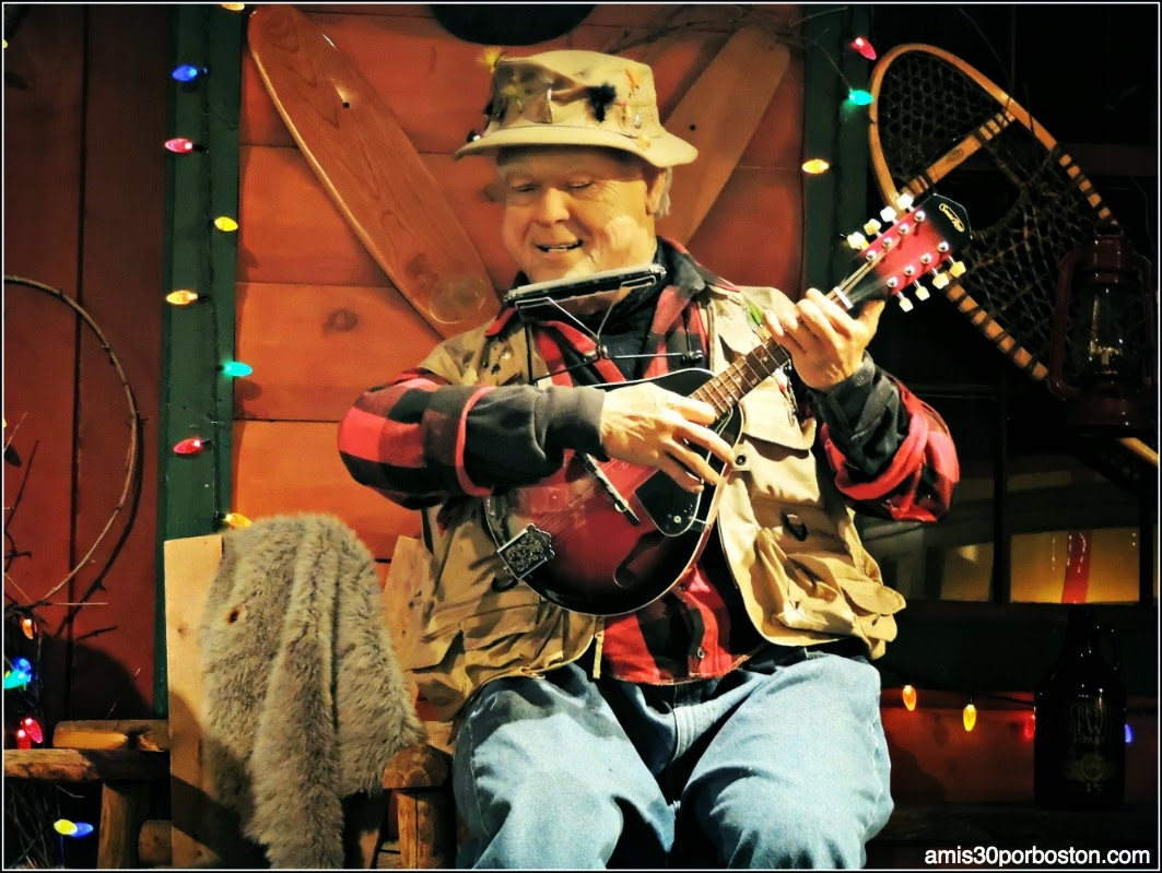 Yankee Candle Village: Los Candle Mountain Boys en el New England Market