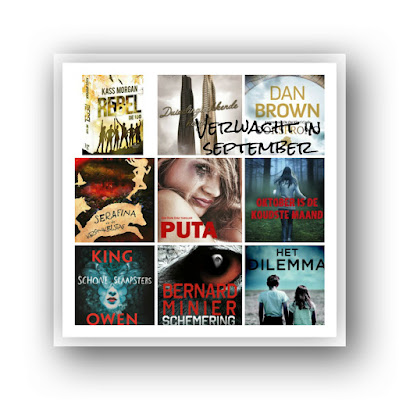 Sterre Carron, Kass Morgan, Dan Brown, Robert Beatty, Stephen King, Bernard Minier