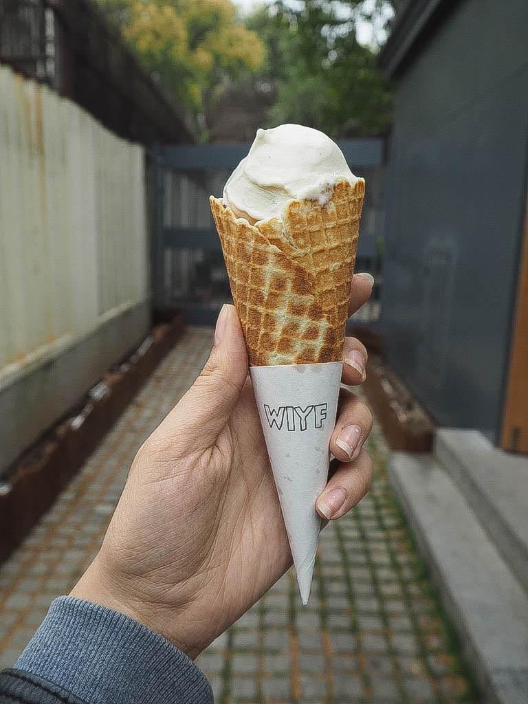 Ice cream in Shanghai