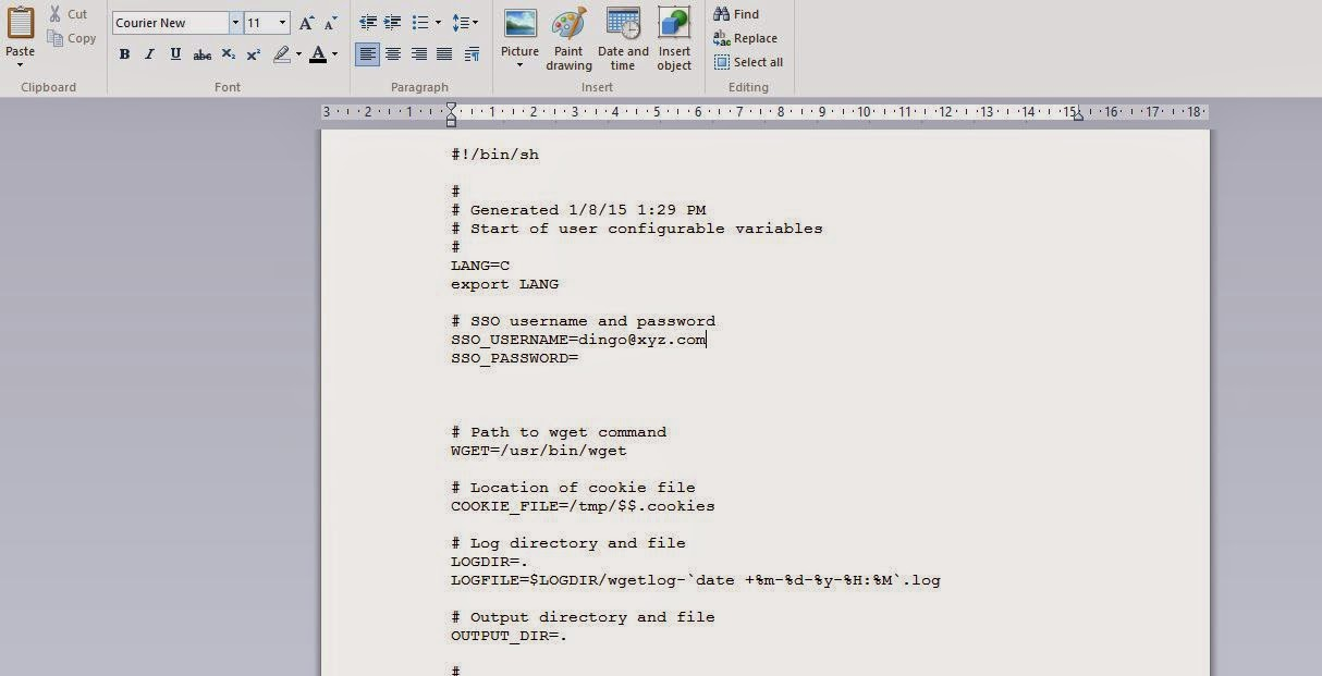Chris Slattery oracle and Miscellaneous tech Blog: Using