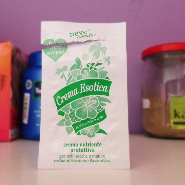 Neve cosmetics Crema Esotica Nutriente Protettiva