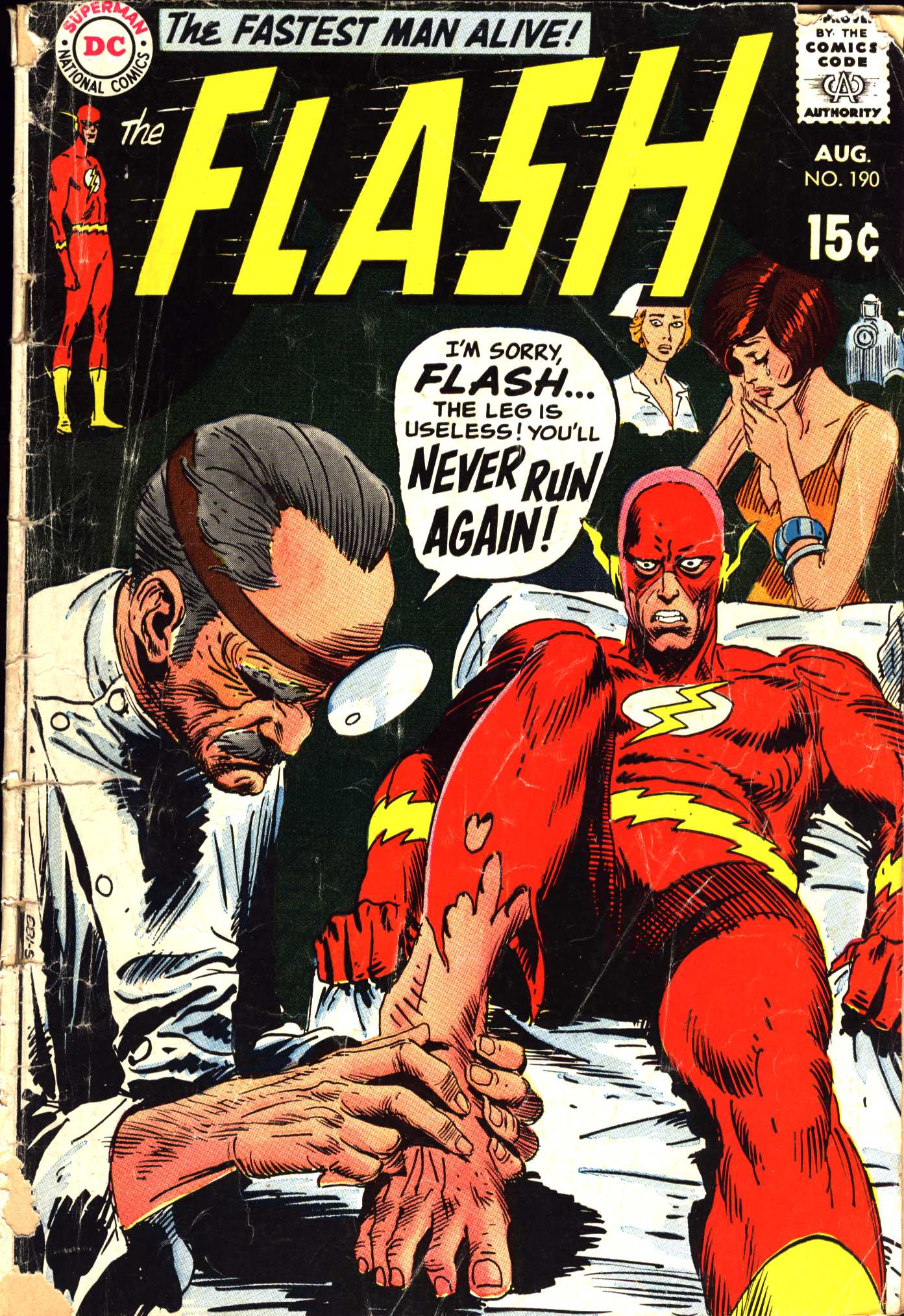 The Flash (1959) 190 Page 1