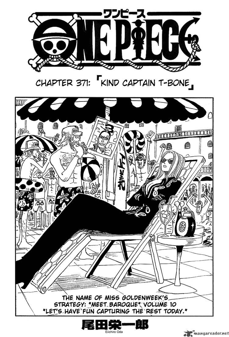 One Piece Ch 371