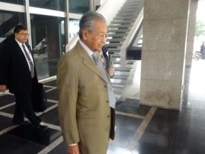 Tun M kembali jejak kaki ke Parlimen',ok?