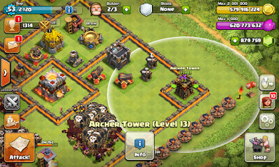 Download Clash Of Clans Full Mod Unlimited Gems (Private Server) Apk | Haramain Software | Free Download Software and Games