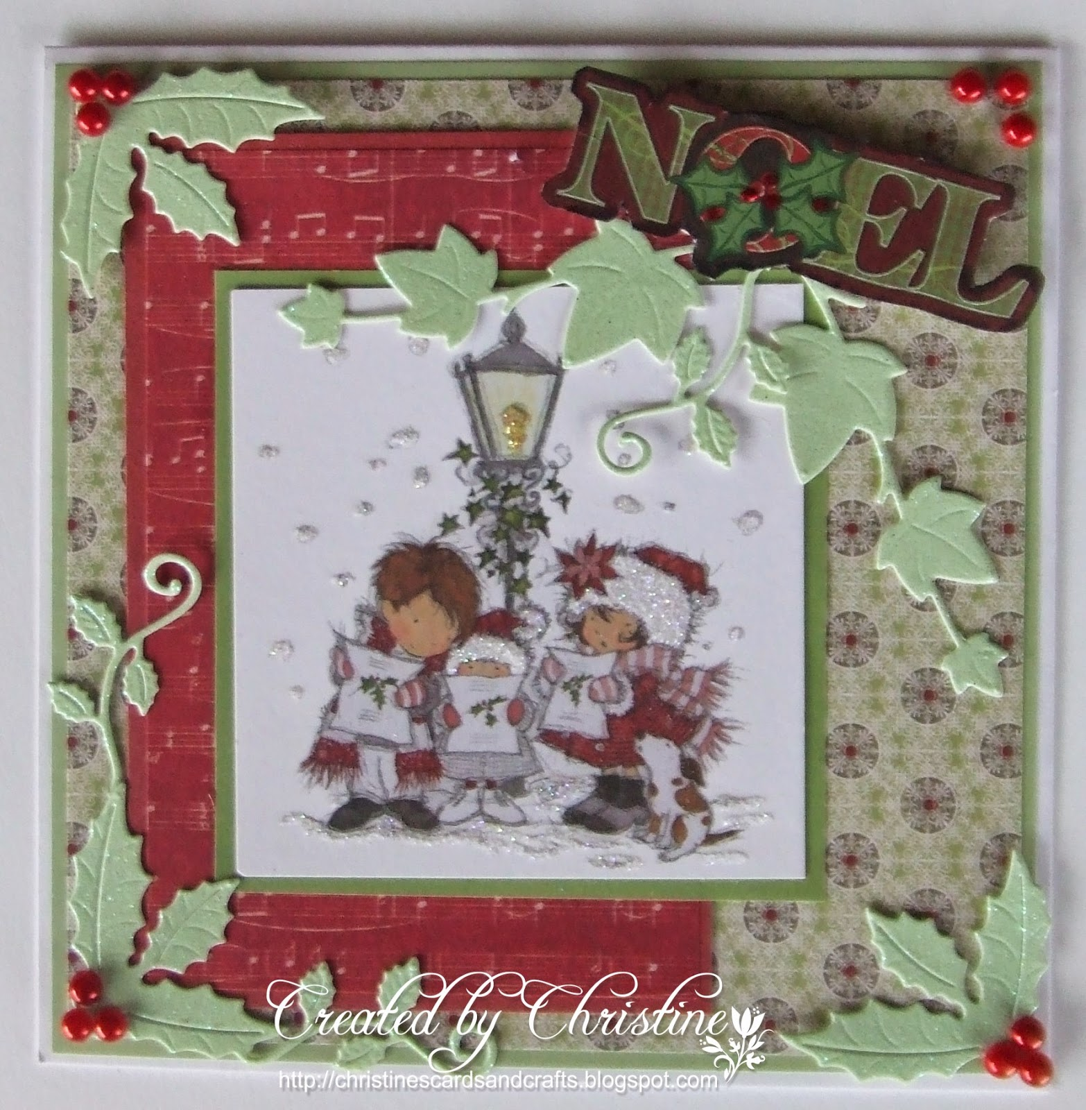 Christine's Cards And Crafts: Christmas Card Club # 21