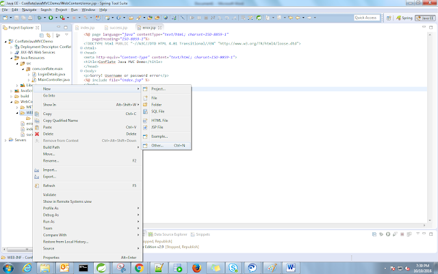 creation on xml file