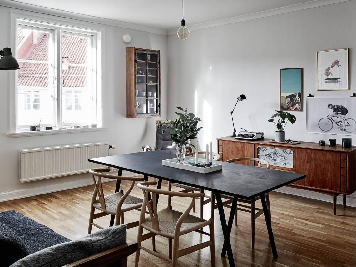 Design Attractor Cozy Apartment With Vintage Designs