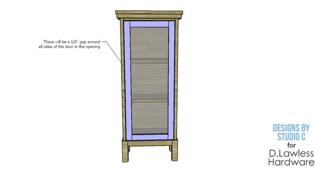 Glass Cabinet Design - D. Lawless
