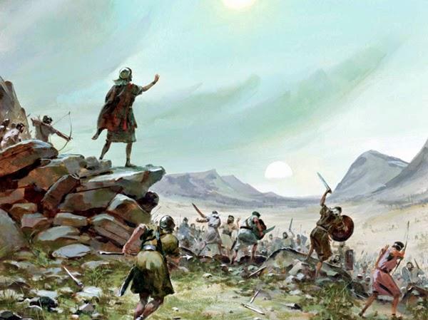 Resultado de imagem para Vitória de Davi sobre os Amalequitas