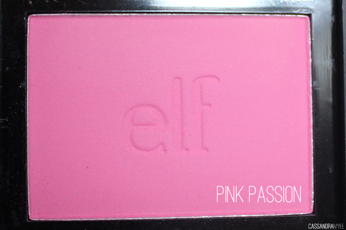 E.L.F. STUDIO // Blush Collection + Swatches - Pink Passion - cassandramyee