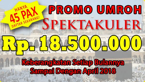 Paket Umrah November 2017 Spk