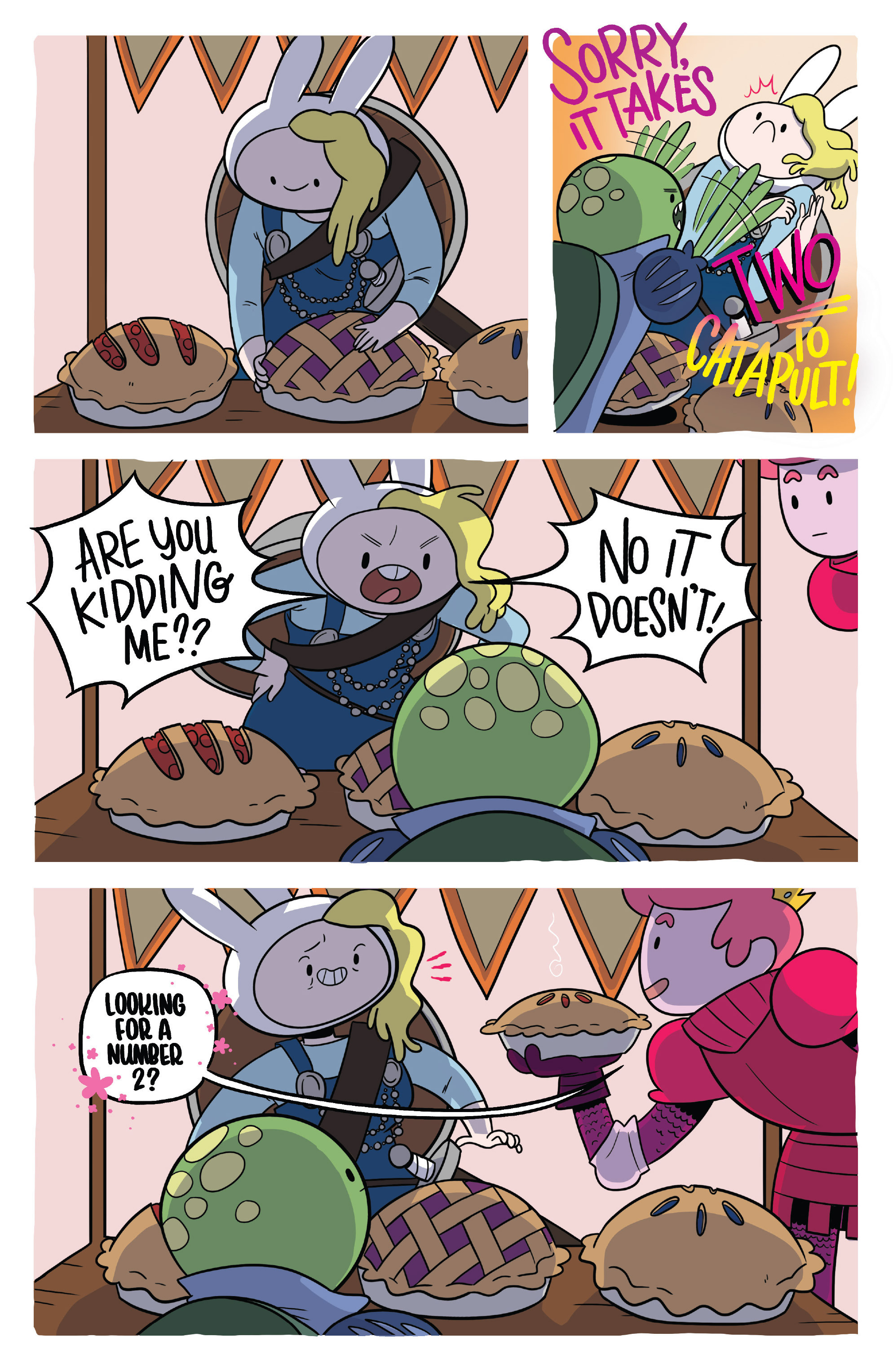 Read online Adventure Time Fionna and Cake Card Wars comic -  Issue #3 - 15