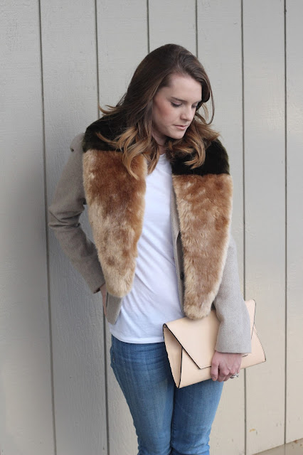 Anthropologie Fur Stole