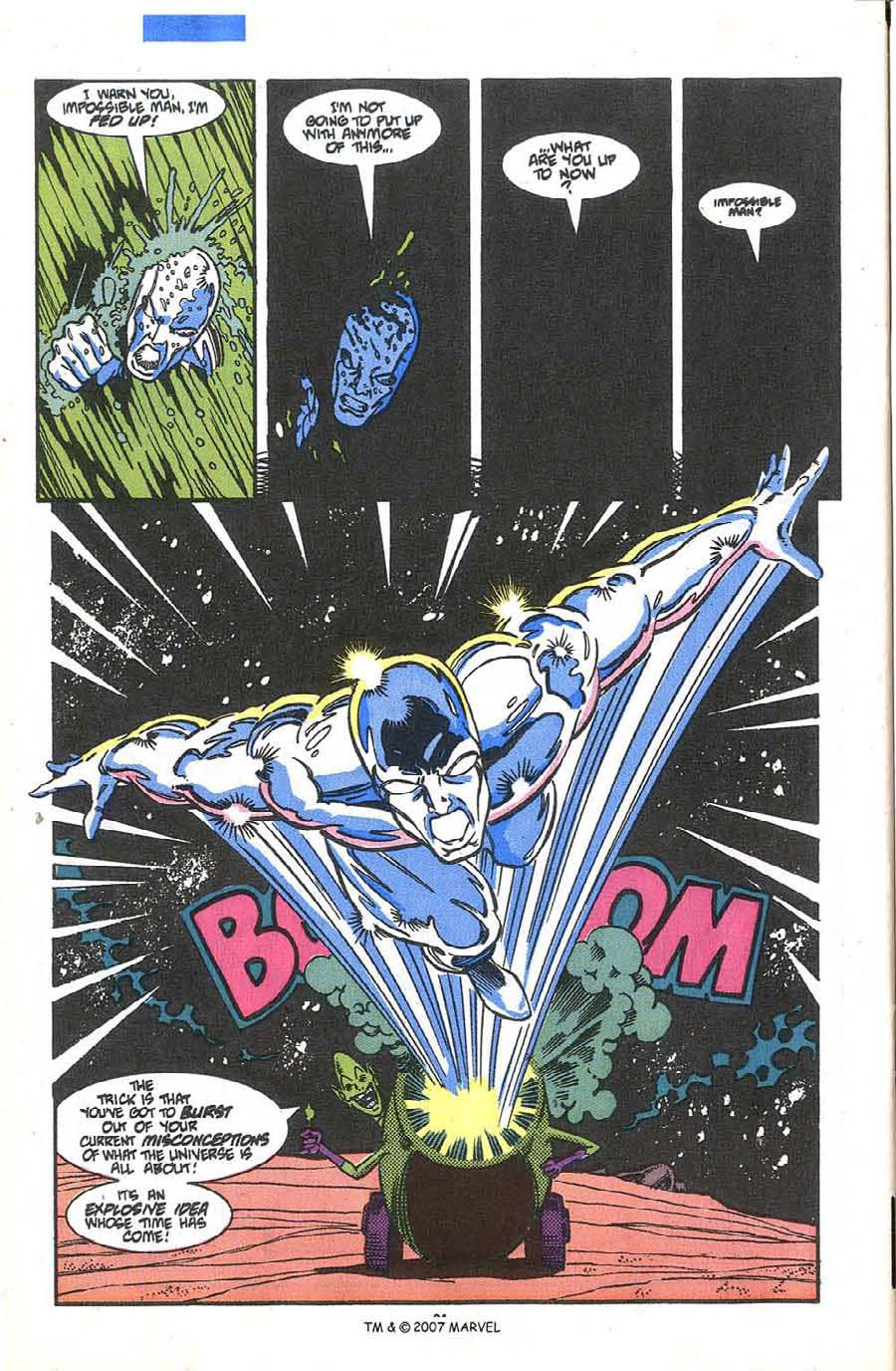 Read online Silver Surfer (1987) comic -  Issue #36 - 26