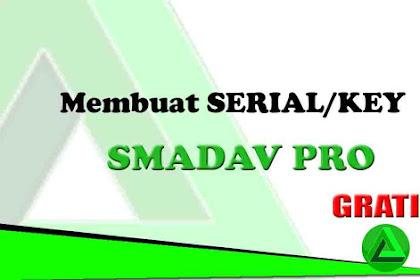 Cara Membuat Serial Number Smadav Pro dengan nama Sendiri (Gratis)