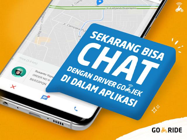 Fitur Chat di Go-Jek