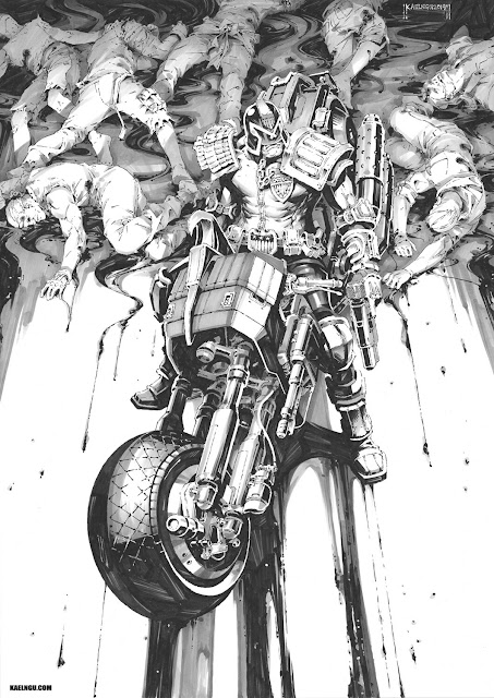 Judge Dredd by Kael Ngu