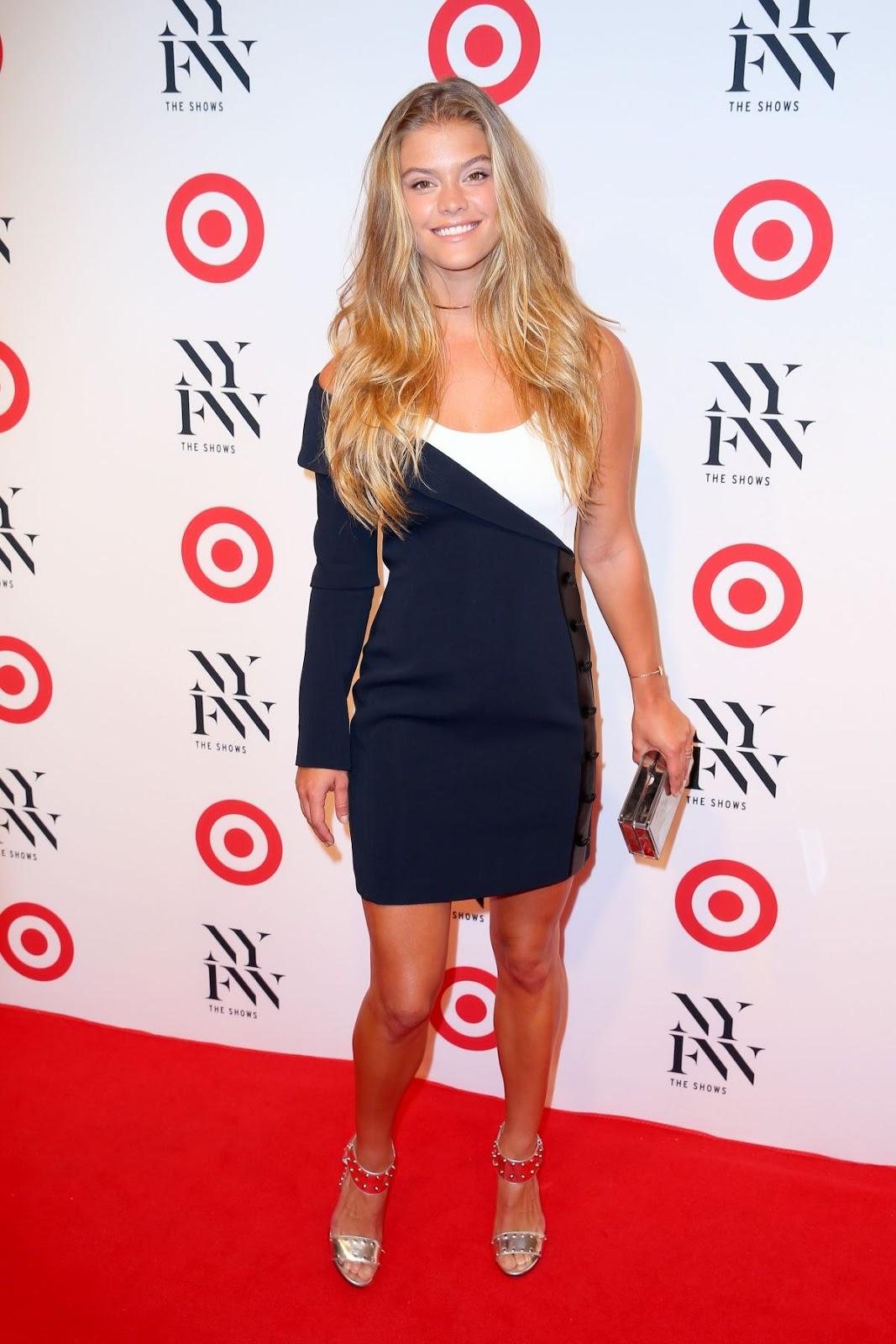 Nina Agdal At Target and IMG Kickoff Party In New York