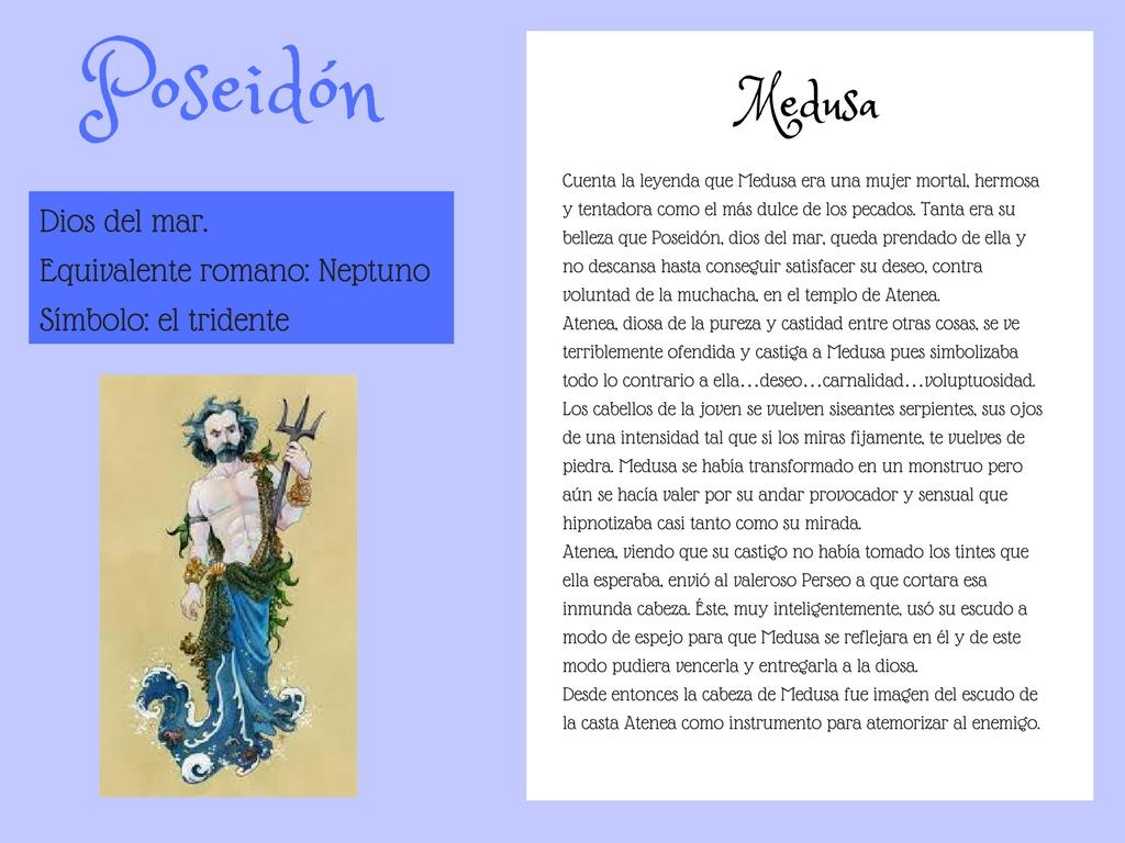 Poeliteraria: SECUENCIACIÓN DE ACTIVIDADES. LOS MITOS