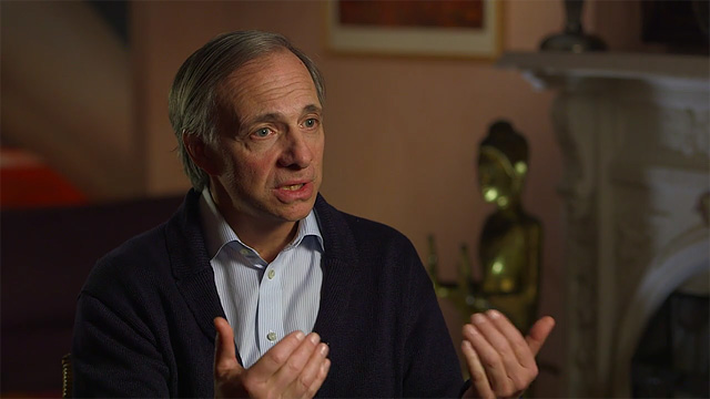 Hedge Fund Manager Ray Dalio In Conversation About