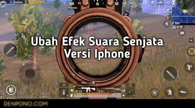 Cara Mengubah Efek Suara Senjata PUBG Mobile Android Seperti Versi Iphone