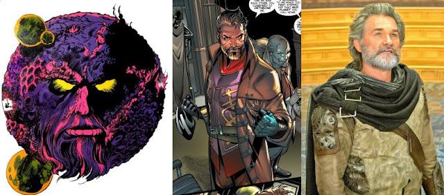 Guardiani della galassia vol. 2 personaggi