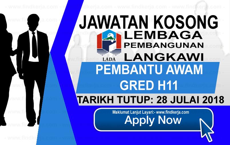 Jawatan Kerja Kosong LADA - Lembaga Pembangunan Langkawi logo www.ohjob.info www.findkerja.com julai 2018