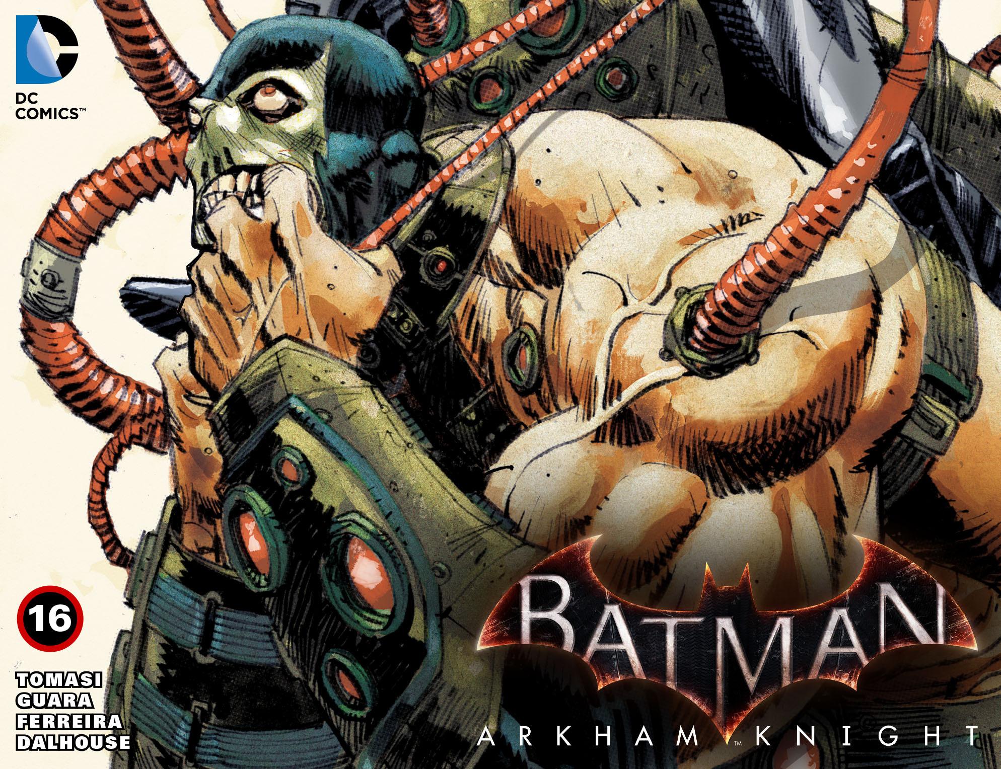 Batman: Arkham Knight [I] 16 Page 1