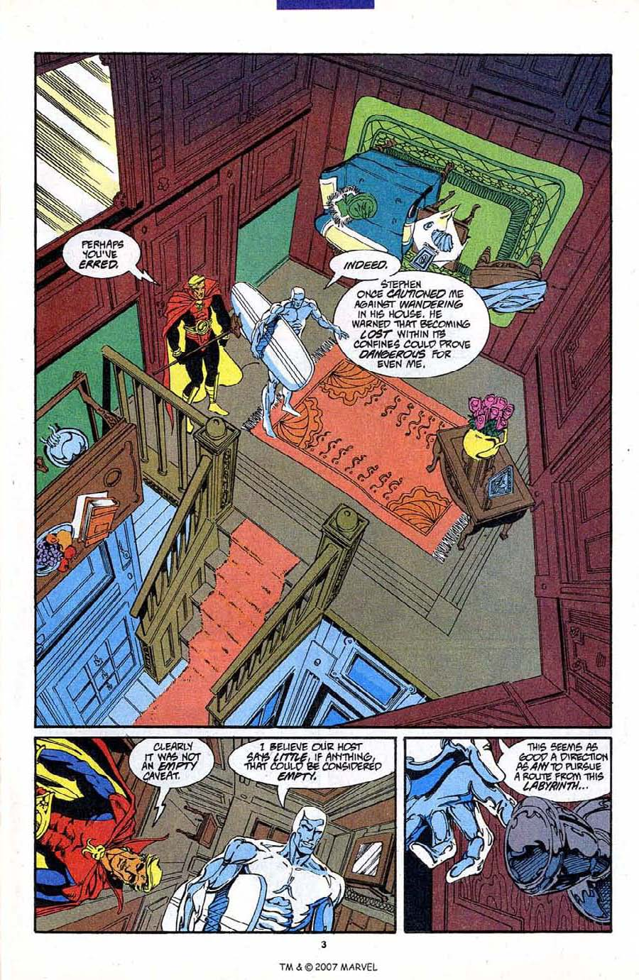 Read online Silver Surfer (1987) comic -  Issue #87 - 5