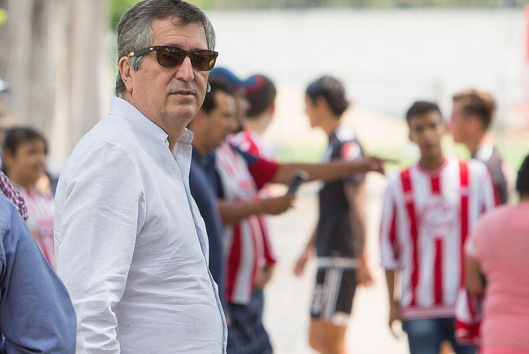 El dueño del club, Jorge Vergara.