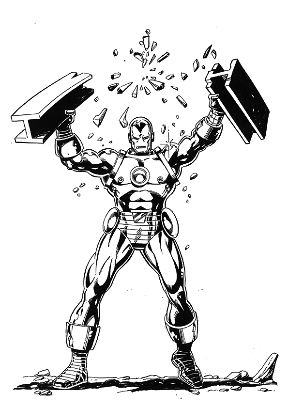 Iron Man Coloring Pages ~ Free Printable Coloring Pages