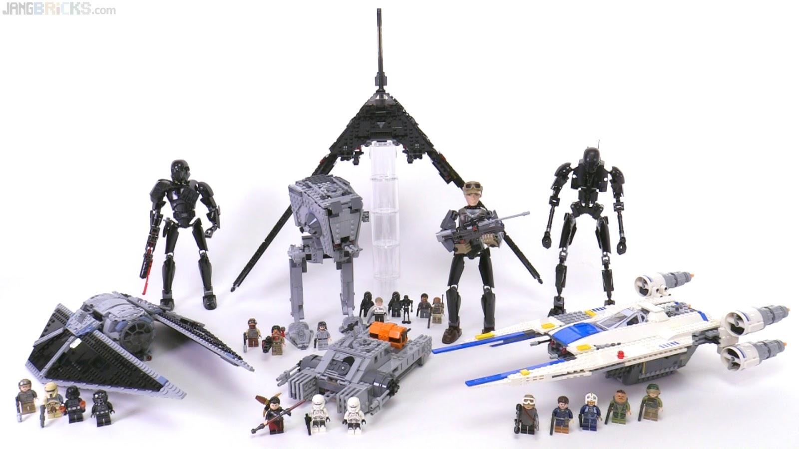 all lego star wars rogue one sets together. Black Bedroom Furniture Sets. Home Design Ideas