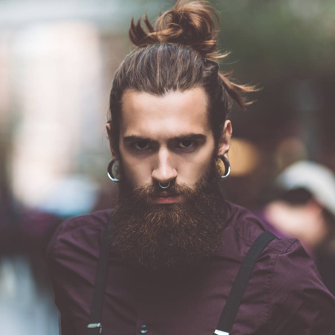 Men Hairstyles With Beard 2018 Long Hairstyles