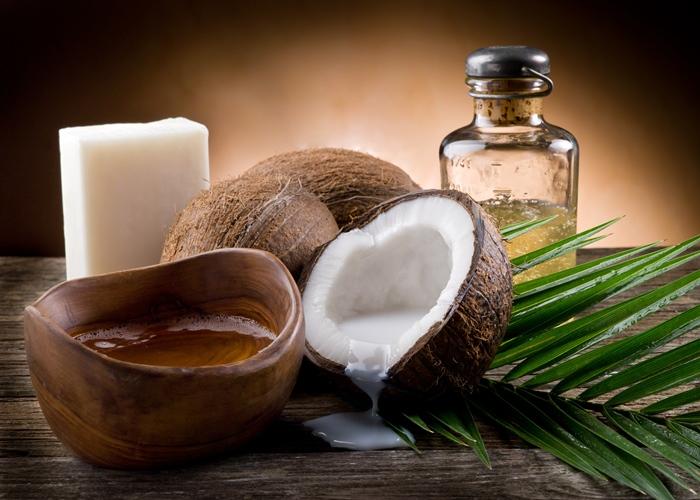 aceite de coco para la psoriasis en el cuero cabelludo