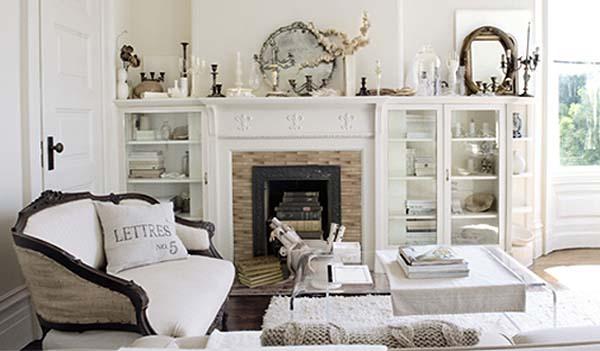 Unailusacreativa decoraci n de salones y comedores estilo vintage - Salones estilo vintage ...