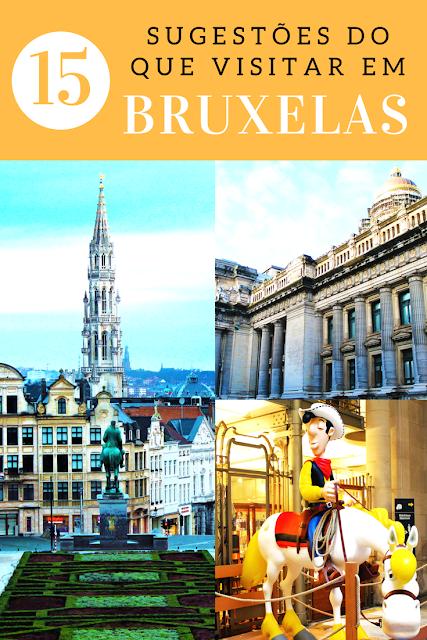 Roteiro de 2 dias em Bruxelas: 15 sugestões do que visitar na capital belga
