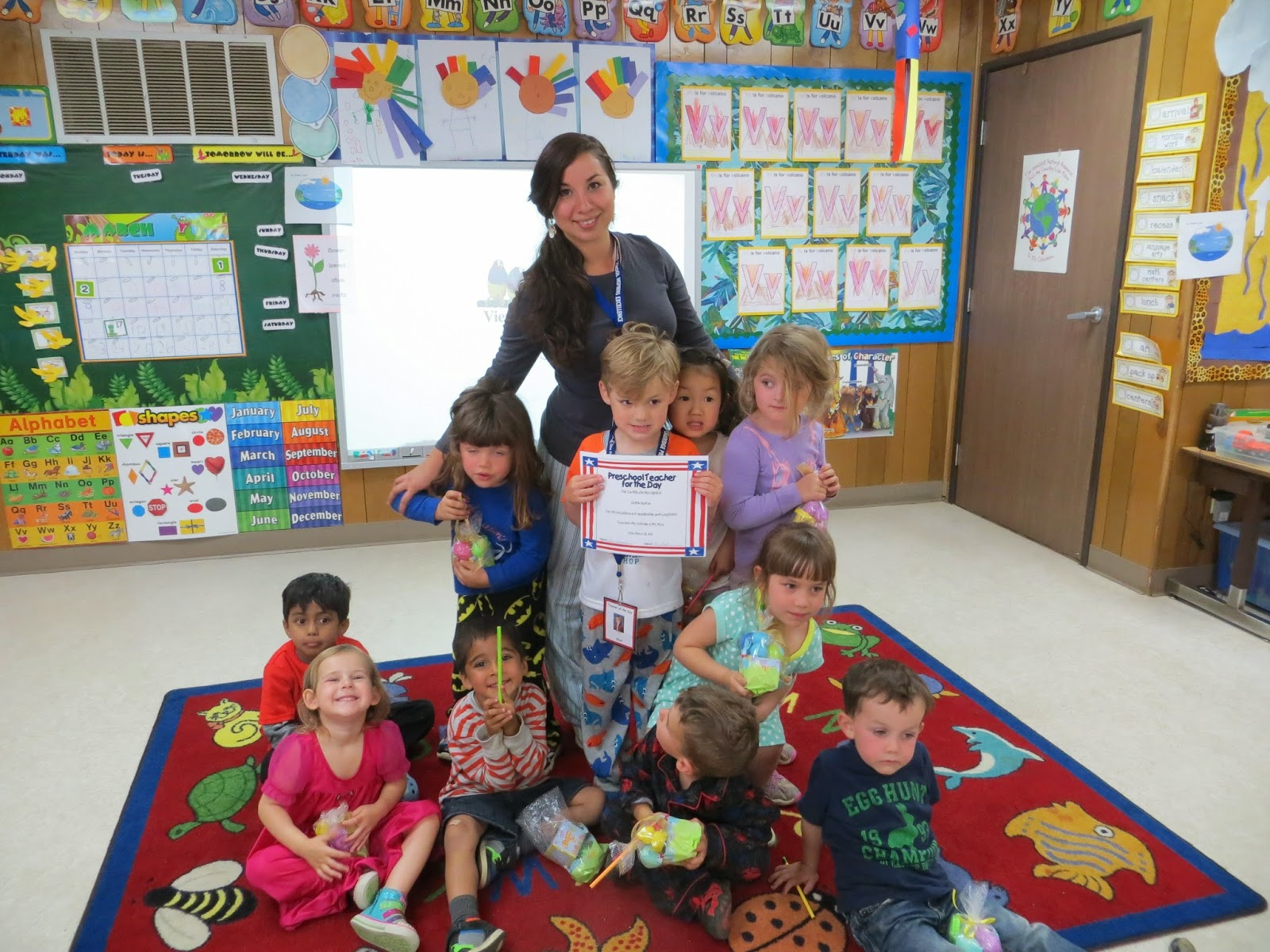 Preschool For Rookies Teacher Of The Day Theme Pajama Day