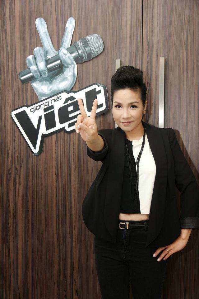Chị Mỹ Linh giám khảo cuộc thi Giọng hát Việt