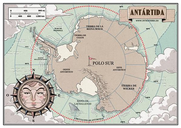 Curiosidades: El círculo polar antártico